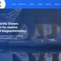 New Website Launched for NERC Changing Arctic Ocean Programme