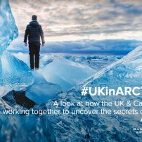 Success in the UK & Canada Arctic Partnership Bursaries Programme (2018) for CAO investigators