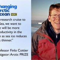 Impacts of climate change on Arctic Ocean ecosystem under scrutiny by UK scientists